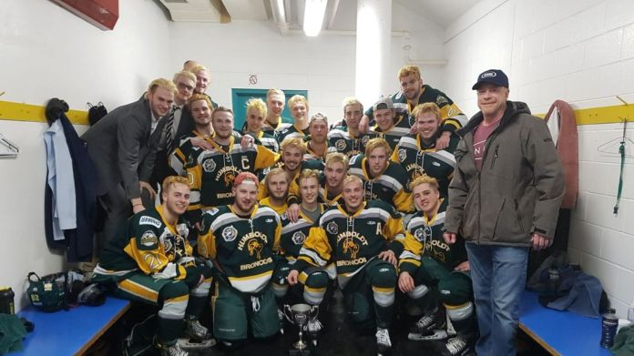 The Broncos posted this picture last month. Pic: Twitter/Humboldt Broncos