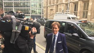 Sir Cliff Richard arrives for day four of his legal battle with the BBC  Sir Cliff Richard awaits judgment on legal battle with BBC Sir Cliff Richard awaits judgment on legal battle with BBC skynews cliff richard cliff 4285044