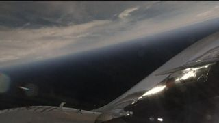 Virgin Galactic successfully tests VSS Unity in a powered flight Astronauts prepare to leave International Space Station after 2,600 orbits Astronauts prepare to leave International Space Station after 2,600 orbits skynews virgin galactic powered flight 4274696