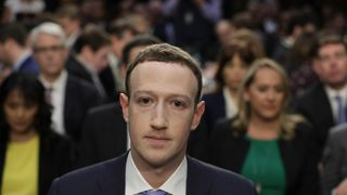 Facebook CEO Mark Zuckerberg faces his second Congressional hearing on Wednesday Row develops over Mark Zuckerberg's closed evidence session to EU Row develops over Mark Zuckerberg's closed evidence session to EU skynews zuckerberg facebook 4279773