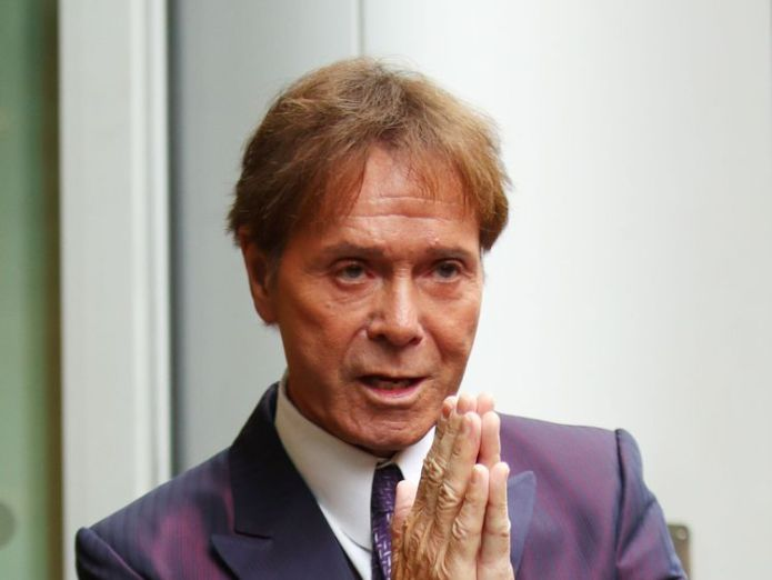 Sir Cliff Richard arrives at the Rolls Building in London, as a High Court judge is preparing to analyse evidence in a legal battle between Sir Cliff and the BBC Sir Cliff Richard awaits judgment on legal battle with BBC Sir Cliff Richard awaits judgment on legal battle with BBC skynews cliff richard bbc 4280411