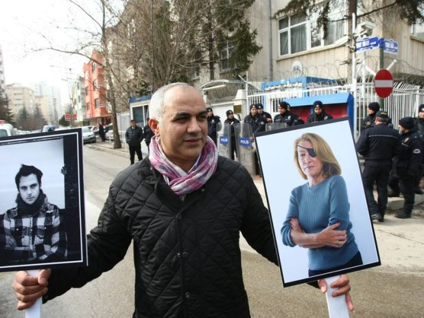 Journalists globally have expressed solidarity with the slain reporters