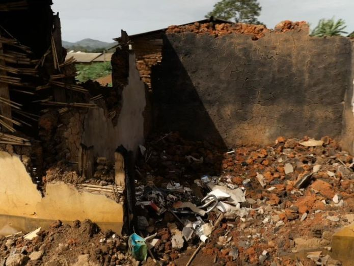 The family's home was torn to pieces Girl, 10, shares horror of rape amid humanitarian crisis in DR Congo Girl, 10, shares horror of rape amid humanitarian crisis in DR Congo skynews dr congo congo bunia 4280252
