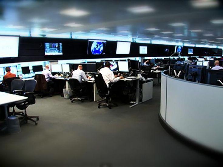 Sky News was granted unprecedented access to GCHQ's headquarters