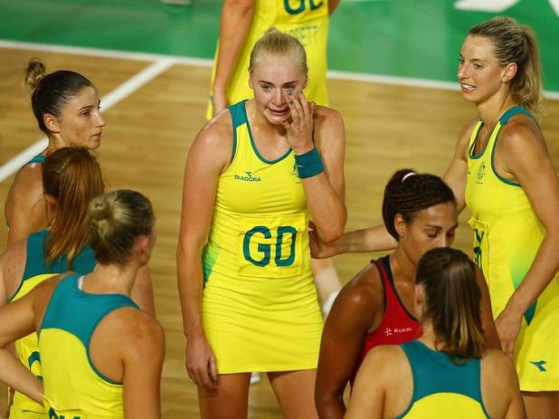 Defeat proves too much for Australia's Joanna Weston