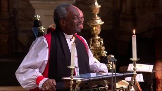 preview image Royal wedding bishop Michael Curry marches against Trump's 'America First' agenda Royal wedding bishop Michael Curry marches against Trump's 'America First' agenda Ut HKthATH4eww8X4xMDoxOjA4MTsiGN 4314698