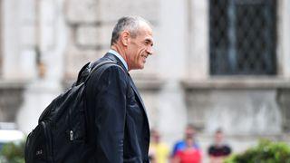 Carlo Cottarelli Stock markets across Europe rattled by Italy crisis Stock markets across Europe rattled by Italy crisis skynews carlo cottarelli italy pm 4322793