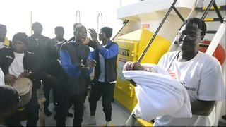 A baby boy named Miracle was born onboard a humanitarian ship on Saturday (May 26) - a bright spot as the tide of migrants risking sea crossings from Libya to Italy increases as the weather improves.  'Memory of tragic Alan Kurdi death is fading' skynews migrants baby miracle 4322015
