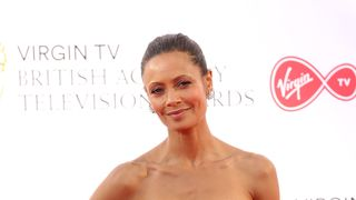 Thandie Newton attending the Virgin TV British Academy Television Awards 2018 held at the Royal Festival Hall, Southbank Centre, London. PRESS ASSOCIATION Photo. Picture date: Sunday May 13, 2018. See PA story SHOWBIZ Bafta. Photo credit should read: Isabel Infantes/PA Wire Oprah Winfrey and Meryl Streep putting world leaders 'on notice' over gender equality Oprah Winfrey and Meryl Streep putting world leaders 'on notice' over gender equality skynews thandie newton bafta 4309717