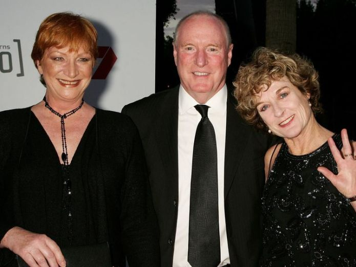 SYDNEY, AUSTRALIA - SEPTEMBER 17: Actors Cornelia Frances, Ray Meagher and Judiy Nunn attend Channel Seven's TV Turns 50, The Event That Stopped a Nation, at Star City on September 17, 2006 in Sydney, Australia. (Photo by Patrick Riviere/Getty Images) Home and Away actress Cornelia Frances dies aged 77 following cancer battle Home and Away actress Cornelia Frances dies aged 77 following cancer battle skynews australia home and away 4323201