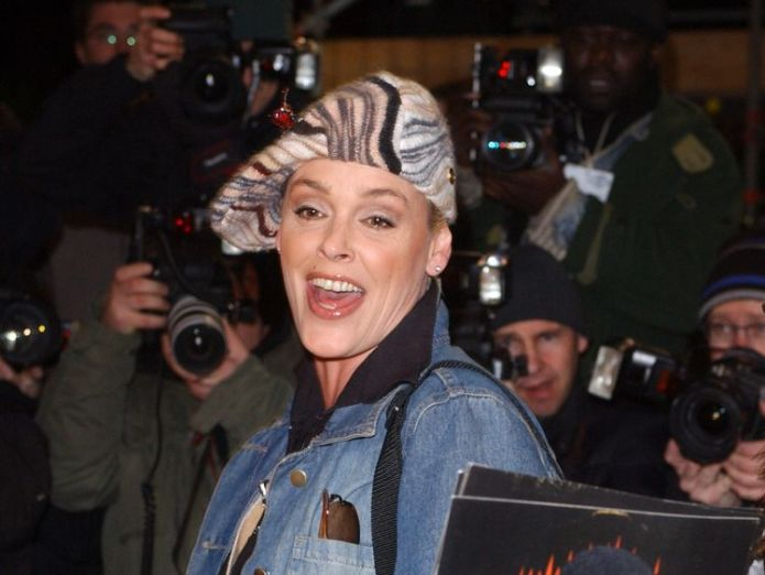 Brigitte Nielsen leaving the Celebrity Big Brother house in 2005. Actress Brigitte Nielsen reveals she is pregnant at 54 and shares pics of bump Actress Brigitte Nielsen reveals she is pregnant at 54 and shares pics of bump skynews brigitte nielsen celebrity big brother 4324715
