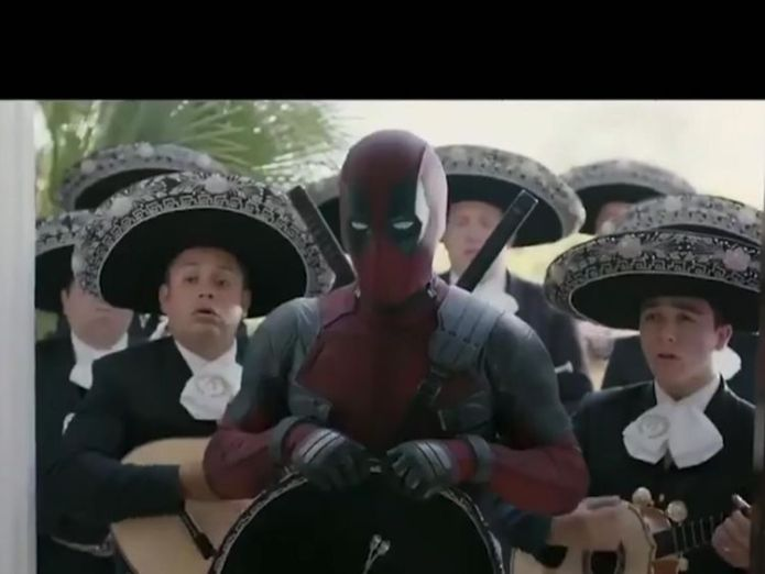 Not even a mariachi band could stop Beckham's anger Deadpool sorry for joking about Beckham's voice Deadpool sorry for joking about Beckham's voice skynews deadpool ryan reynolds 4306326