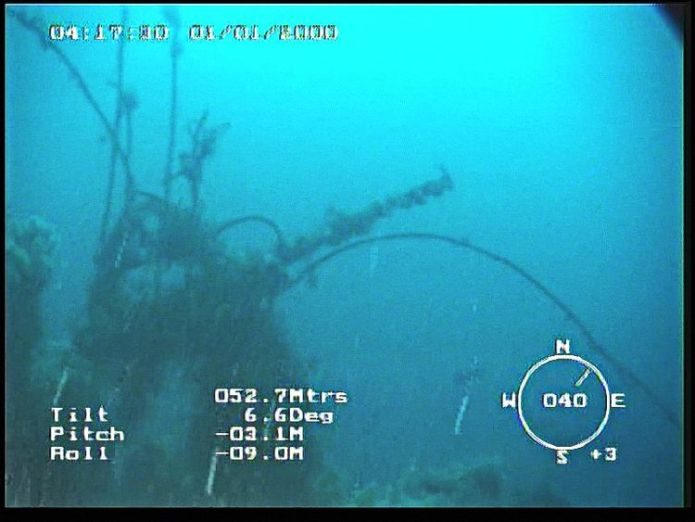 Images from the submersible Gavia show the wreck of the Empire Wold Mystery of missing WWII tug Empire Wold solved 74 years on as it is found off Iceland Mystery of missing WWII tug Empire Wold solved 74 years on as it is found off Iceland skynews empire wold iceland 4318373