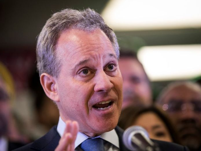 New York Attorney General Eric Schneiderman has resigned following accusations of physical violence towards four women. New York Attorney General Eric Schneiderman resigns over women-beating allegations New York Attorney General Eric Schneiderman resigns over women-beating allegations skynews eric schneiderman new york attorney 4303756