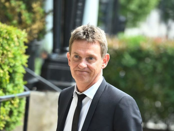 Matthew Wright arrives to pay respects David Walliams and Graeme Souness among mourners at service David Walliams and Graeme Souness among mourners at service skynews matthew wright dale winton 4317350