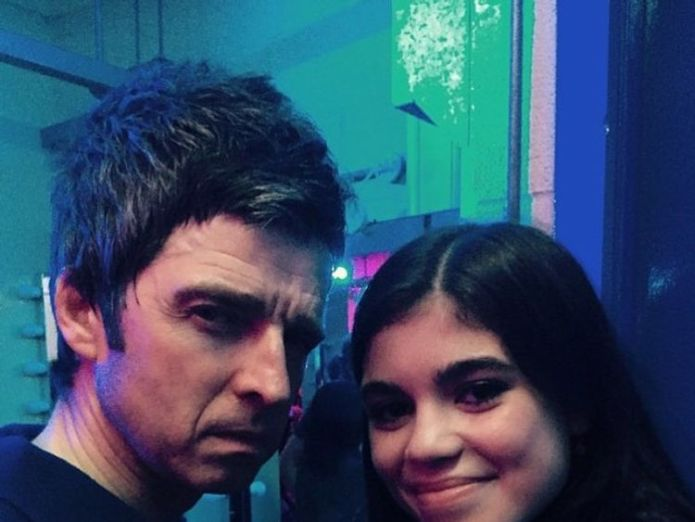 Molly Moorish with uncle Noel Gallagher in a photo published by her mum on Instagram in June 2017 Liam Gallagher wants relationship with estranged daughter Molly Moorish Liam Gallagher wants relationship with estranged daughter Molly Moorish skynews noel gallagher molly moorish 4318530