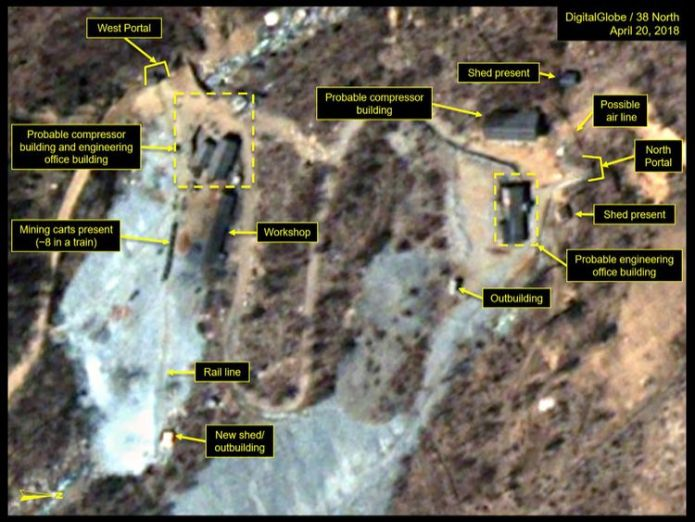 Punggye-ri nuclear test site in North Korea What we know about North Korea's secretive Punggye-ri nuclear site What we know about North Korea's secretive Punggye-ri nuclear site skynews punggye ri nuclear 4317416