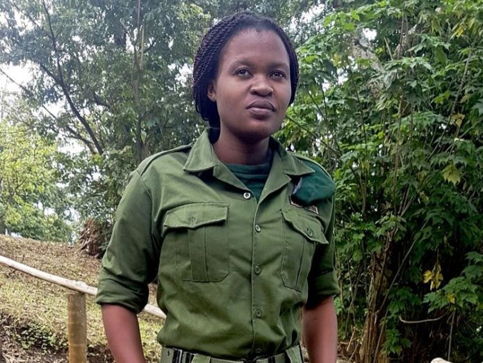 Virunga National Park Ranger, Rachel Masika Baraka, killed in action Britons captured In DR Congo park 'lucky to be alive' Britons captured In DR Congo park 'lucky to be alive' skynews rachel rachel masika baraka 4308815