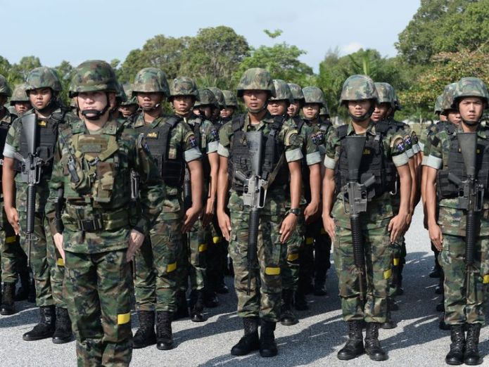 The Thai military has been called in to help tackle the garlic smuggling thai military called in to halt garlic smuggling Thai military called in to halt garlic smuggling skynews thailand garlic military 4324657
