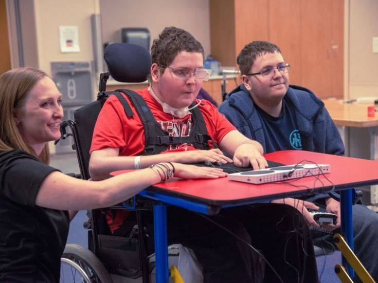 The Xbox controller can support gamers with a range of disabilities
