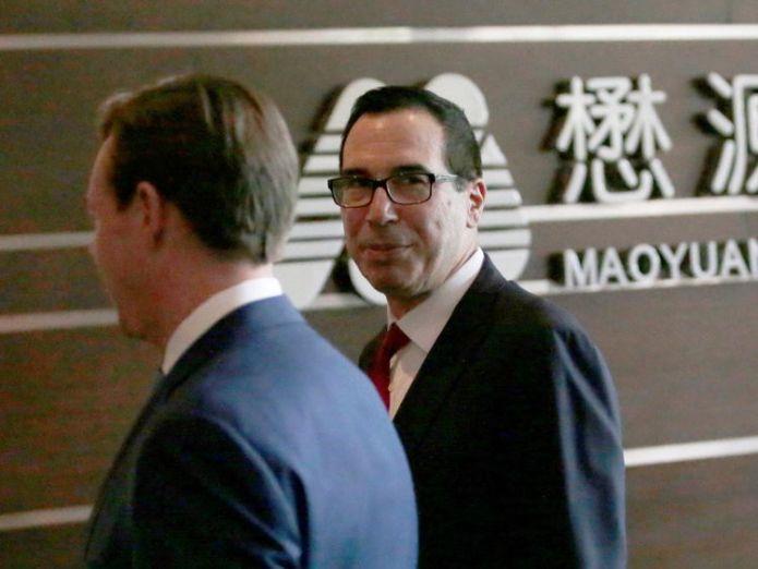 US Treasury Secretary Steven Mnuchin in Beijing FTSE 100 hits record high as Trump trade war fears ease FTSE 100 hits record high as Trump trade war fears ease steven mnuchin china us trade 4299715