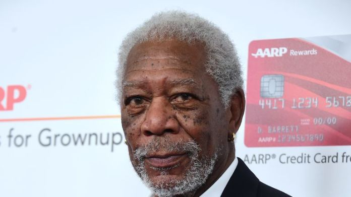 Actor Morgan Freeman arrives for the 16th Annual AARP Movies for Grownups Awards on February 6, 2017 in Beverly Hills, California.  / AFP / Frederic J. Brown (Photo credit should read FREDERIC J. BROWN / AFP / Getty Images)