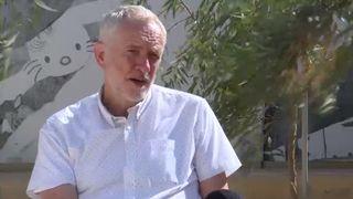 Jeremy Corbyn speaks to Sky News about Donald Trump's impending visit