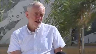 Jeremy Corbyn speaks to Sky News about Donald Trump's impending visit  Donald Trump to avoid protests during UK visit skynews jeremy corbyn trump visit 4342845