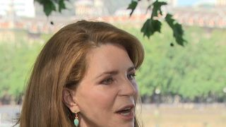Queen Noor of Jordan Trump was 'short-sighted' over withdrawal from Paris climate agreement Trump was 'short-sighted' over withdrawal from Paris climate agreement skynews queen noor of jordan 4330360