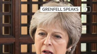 Theresa May says she regrets not meeting Grenfell survivors immediately after fire