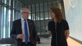 The US Ambassador to the UK, Woody Johnson, tells Sky News that the Donald Trump will meet the Queen on his UK visit.