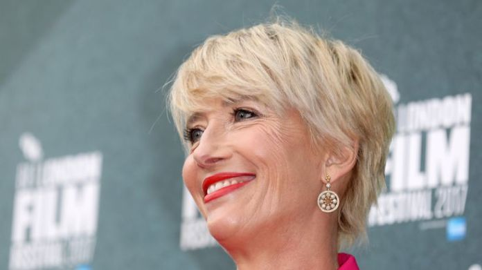 Emma Thompson is made a Dame for services to drama Stars recognised in Queen's birthday honours list Stars recognised in Queen's birthday honours list skynews emma thompson dame 4330321