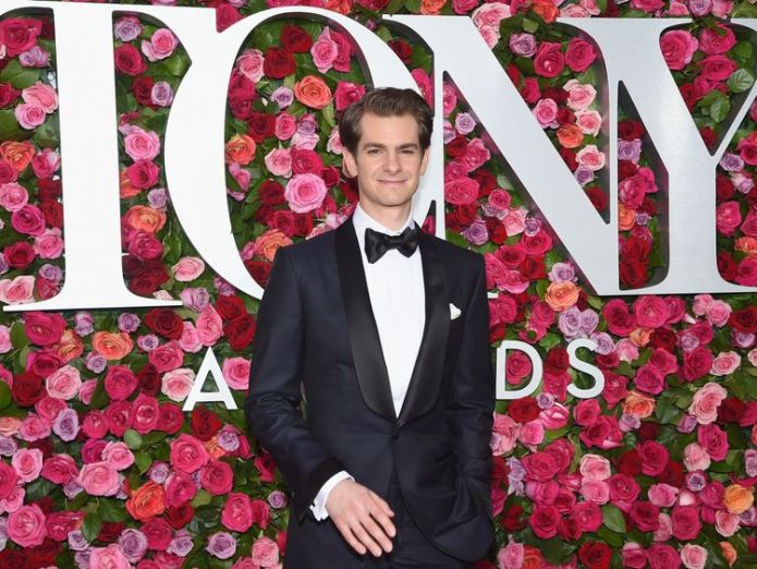 attends the 72nd Annual Tony Awards at Radio City Music Hall on June 10, 2018 in New York City. Harry Potter And The Cursed Child among British winners at 72nd Tony Awards Harry Potter And The Cursed Child among British winners at 72nd Tony Awards skynews andrew garfield tony awards 4333191