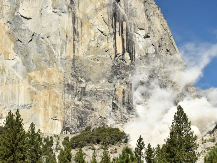 Two climbers died while scaling El Capitan in northern California Two climbers fall to their deaths from Yosemite's El Capitan Two climbers fall to their deaths from Yosemite's El Capitan skynews el capitan los angeles 4327325