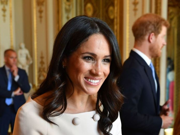 The Duchess of Sussex Queen joins Harry and Meghan to honour young leaders at star-studded bash Queen joins Harry and Meghan to honour young leaders at star-studded bash skynews harry meghan royal 4346640