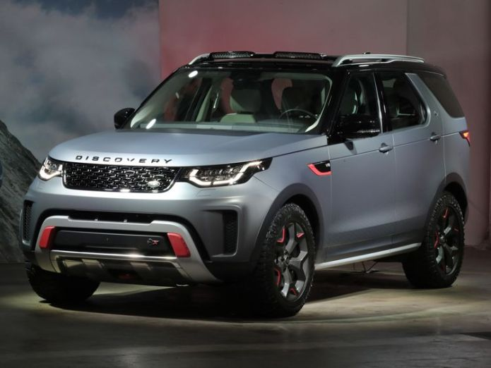 Land Rover Discovery SVX  Jaguar Land Rover says Brexit uncertainty risks 40,000 jobs skynews jaguar land rover discovery 4333473