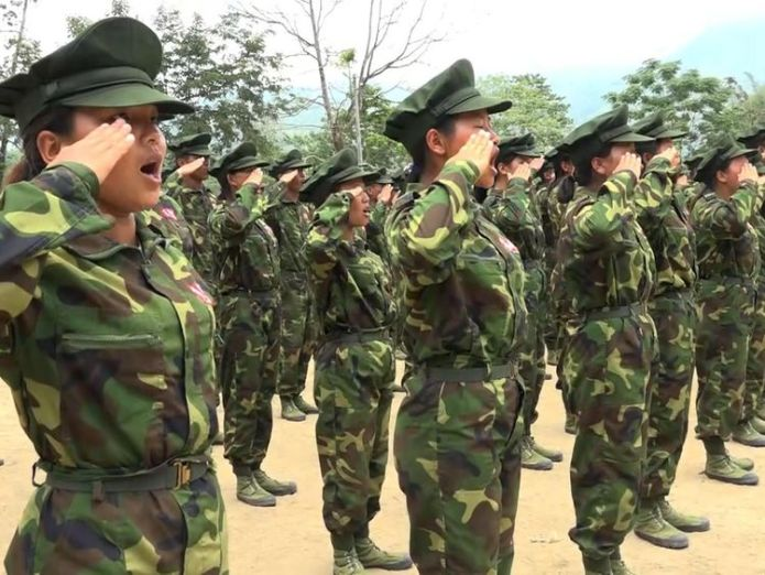 army 'Worrying evidence' of new genocidal campaign in Myanmar 'Worrying evidence' of new genocidal campaign in Myanmar skynews myanmar kachin crawford 4328307