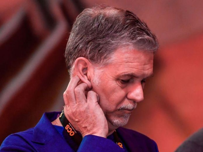 Netflix CEO Reed Hastings Netflix's top spokesman fired over 'N-word' Netflix's top spokesman fired over 'N-word' skynews netflix ceo reed hastings 4343205