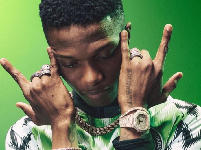 Pic: Nike Nigeria World Cup kit sells out with three million pre-orders Nigeria World Cup kit sells out with three million pre-orders skynews nike nigeria 4326132