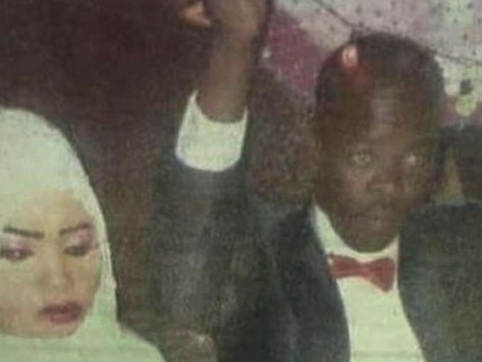 Noura appears unhappy and fearful at her wedding The teen sentenced to death for killing her rapist husband The teen sentenced to death for killing her rapist husband skynews noura sudan womens rights 4345534