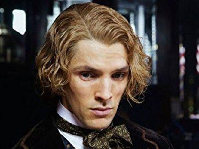 Colin Morgan plays Wilde's lover, Alfred Bosie Douglas