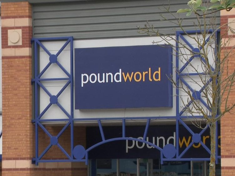 Poundworld is a bargain household goods chain that employs 5,300 staff