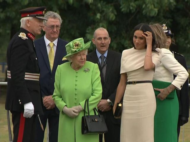 The Queen and the Duchess of Sussex attend an engagement together