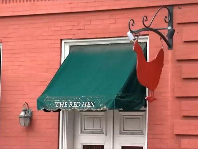 Sarah Huckabee Sanders was asked to leave The Red Hen in Lexington, Virginia Restaurant owner asks Trump press secretary to leave Restaurant owner asks Trump press secretary to leave skynews red hen sanders 4344129