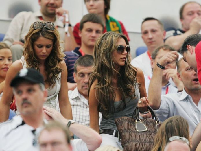 wags world cup 2006  WAGs to have 'much lower profile' at World Cup than in previous tournaments skynews wags world cup cheryl cole 4334357