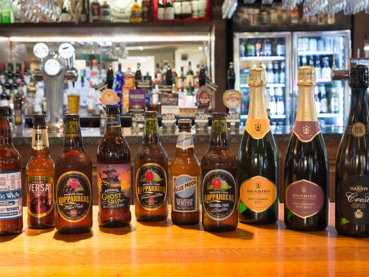 Wetherspoons releases a new selection of drinks as part of its drive to cut EU-sourced beers and and replace them with British ones