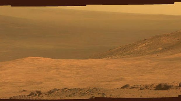 The Martian landscape previously captured by Opportunity