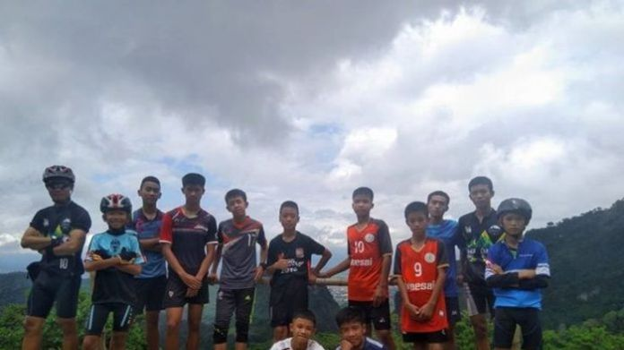 Missing Thai football team and their coach  How the rescue operation unfolded skynews cave thailand teens 4351504