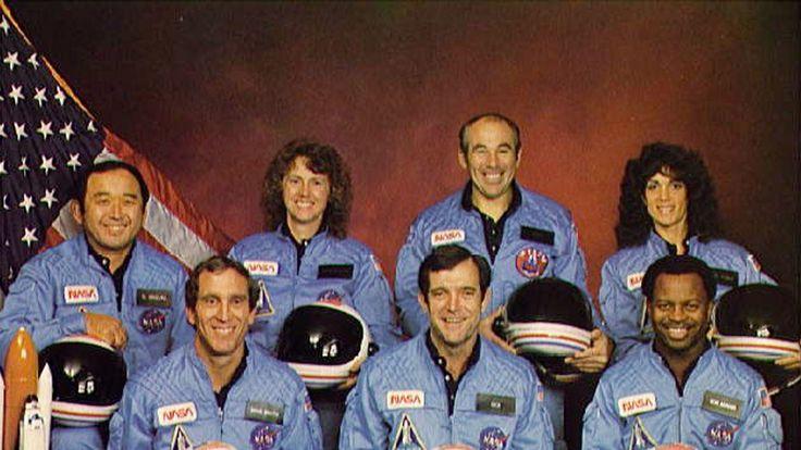 All seven astronauts on board were killed
