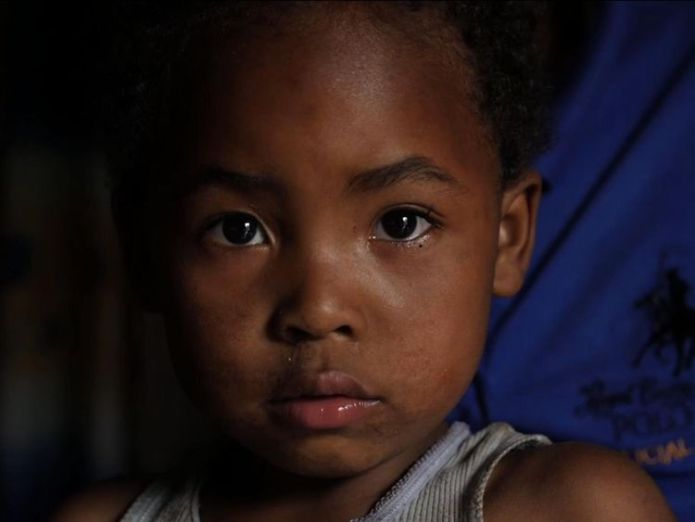 """Mika is known as """"the white one"""" in his Goma community  Mothers in Democratic Republic of Congo reveal abuse at hands of aid workers skynews democratic republic 4377010"""